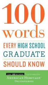 Omslag - 100 Words Every High School Graduate Should Know