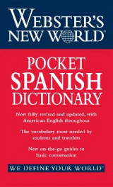 Omslag - Webster's New World Pocket Spanish Dictionary