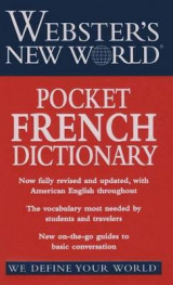 Omslag - Webster's New World Pocket French Dictionary