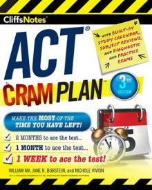 Cliffsnotes ACT Cram Plan, 3rd Edition av William Ma, Jane R Burstein og Nichole Vivion (Heftet)