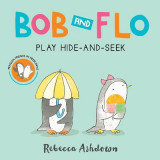 Omslag - Bob and Flo Play Hide-And-Seek (Board Book)