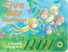 Five Silly Monkeys av Susie Brooks (Pappbok)