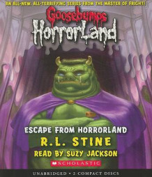 Escape from Horrorland av R L Stine (Lydbok-CD)