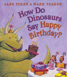How Do Dinosaurs Say Happy Birthday? av Jane Yolen (Pappbok)