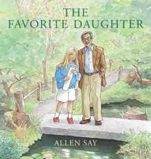 The Favorite Daughter av Allen Say (Innbundet)