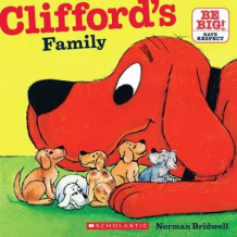 Clifford's Family (Heftet)