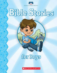 Bible Stories for Boys (Pappbok)