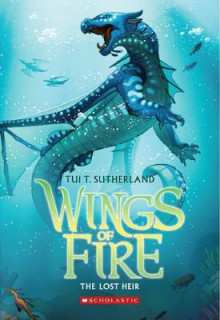 Wings of Fire Book Two: The Lost Heir av Tui T Sutherland (Heftet)