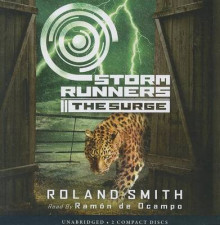 Storm Runners: The Surge av Roland Smith (Lydbok-CD)