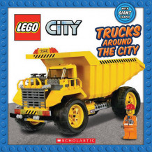 Lego City: Trucks Around the City av Inc. Scholastic (Pappbok)