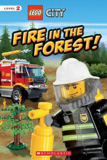 Lego City Fire in the Forest! av Samantha Brooke (Heftet)