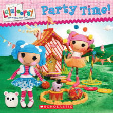 Lalaloopsy: Party Time! av Inc. Scholastic og Lauren Cecil (Heftet)