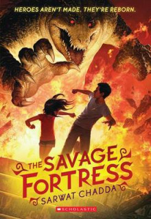 The Savage Fortress av Sarwat Chadda (Heftet)