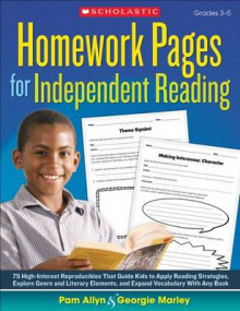 Homework Pages for Independent Reading av Pam Allyn og Georgie Marley (Heftet)