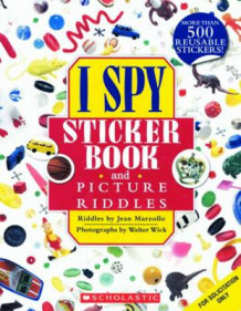 I Spy Sticker Book and Picture Riddles av Jean Marzollo (Heftet)