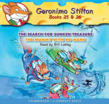 Geronimo Stilton #25-26: The Search for Sunken Treasure / The Mummy with No Name - Audio Library Edition av Geronimo Stilton (Lydbok-CD)