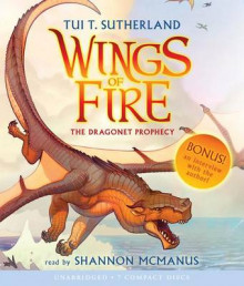 The Dragonet Prophecy av Tui T Sutherland (Lydbok-CD)
