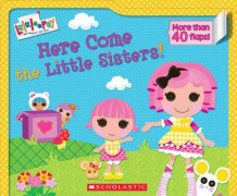 Lalaloopsy: Here Come the Little Sisters! av Lauren Cecil (Pappbok)