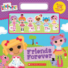 Friends Forever Magnetic Play Book av Scholastic Inc. (Blandet mediaprodukt)