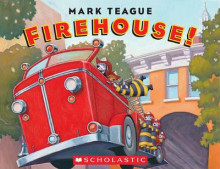 Firehouse! av Mark Teague (Pappbok)