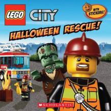 Lego City: Halloween Rescue av Trey King (Heftet)