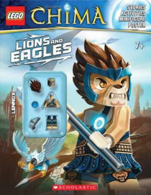 Lego Legends of Chima: Lions and Eagles av Scholastic (Blandet mediaprodukt)