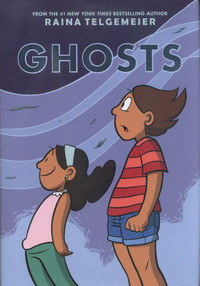 Ghosts av Raina Telgemeier (Innbundet)