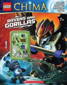 Lego Legends of Chima: Ravens and Gorillas (Activity Book #3) av Various (Heftet)