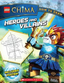 How to Draw Heroes and Villains av Ron Zalme (Blandet mediaprodukt)