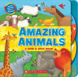 Omslag - Amazing Animals: A Spin & Spot Book