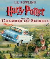 Harry Potter and the Chamber of Secrets: The Illustrated Edition (Harry Potter, Book 2) av J K Rowling (Innbundet)