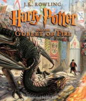 Harry Potter and the Goblet of Fire: The Illustrated Edition av J K Rowling (Innbundet)