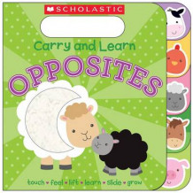 Carry and Learn Opposites av Various (Pappbok)