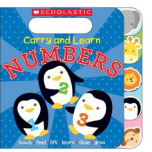 Carry and Learn Numbers av Inc. Scholastic (Pappbok)