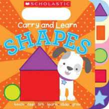 Carry and Learn Shapes av Inc. Scholastic og Various (Pappbok)
