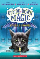 Sticks & Stones (Upside-Down Magic #2), Volume 2 av Emily Jenkins, Sarah Mlynowski og Lauren Myracle (Heftet)