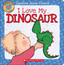 Lovemeez: I Love My Dinosaur av Caroline Jayne Church (Pappbok)