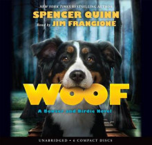 Woof av Spencer Quinn (Lydbok-CD)