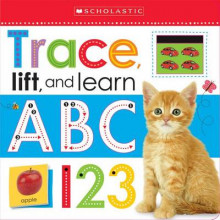 Trace, Lift, and Learn: ABC 123 (Scholastic Early Learners) av Inc. Scholastic (Pappbok)