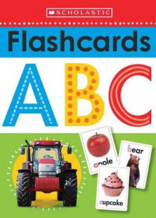 Write and Wipe Flashcards: ABC av Scholastic (Undervisningskort)