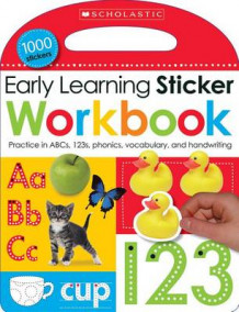 Early Learning Sticker Workbook av Inc. Scholastic (Heftet)
