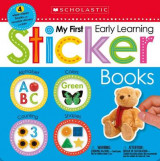Omslag - My First Early Learning Sticker Books Box Set (Scholastic Early Learners)