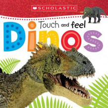 Touch and Feel Dinos (Scholastic Early Learners) av Scholastic (Pappbok)