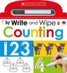 Write and Wipe: Counting av Scholastic (Pappbok)