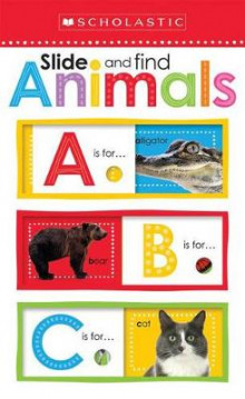 Slide and Find ABC Animals (Scholastic Early Learners: Slide and Find) av Inc. Scholastic (Innbundet)