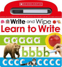 Learn to Write (Scholastic Early Learners: Write and Wipe) av Scholastic (Innbundet)
