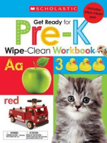 Wipe-Clean Workbooks: Get Ready for Pre-K av Scholastic (Blandet mediaprodukt)