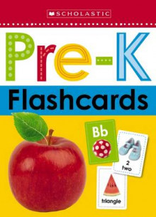 Flashcards - Get Ready for Pre-K (Scholastic Early Learners) av Scholastic (Bok uspesifisert)