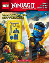 Omslag - Attack of the Sky Pirates (Lego Ninjago: Activity Book with Minifigure)