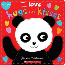 I Love Hugs and Kisses (Heart-Felt Books) av Sandra Magsamen (Innbundet)